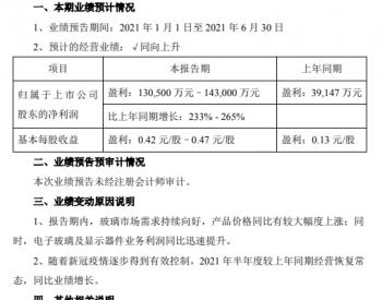 净利润预增233%-265%,南玻A发布业绩预告