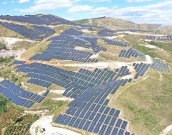 海泰新能蝴蝶山30MWp光伏电站项目成功并网发电