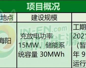 招标丨国家电投15MW/30MWh海上风电配储能项目发布公告