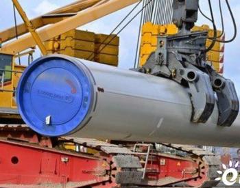 """""""北溪-2""""天然气管道铺设预期8月底完成"""
