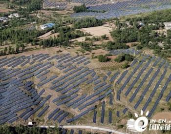中国能建安徽电建二公司承建无为市40兆瓦水上光伏
