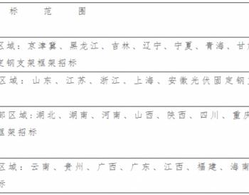 招标   <em>中国华电集团</em>有限公司2021-2022年光伏固定钢支架框架采购招标公告