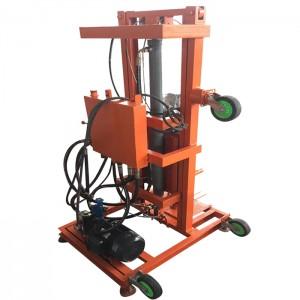 液压伸缩油缸打井机