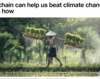 <em>区块链</em>支持的智能合约可奖励个人参与应对气候变化