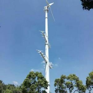 30KW风力发电机设备 风光互补发电设备