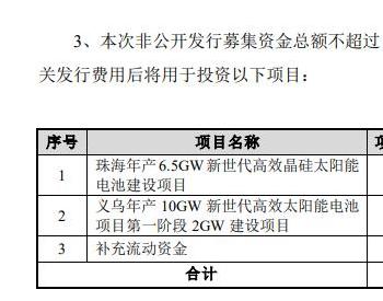 <em>爱旭股份</em>大力布局光伏赛道,35亿非公开发行获反馈意见