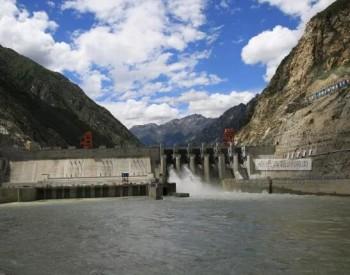 雅砻江两河口水电站尾水首次充水成功