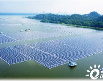 新加坡最大内陆漂浮<em>太阳能电站</em>竣工投运