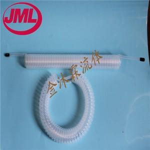 PFA螺旋管PFA透明弹簧管PFA缠绕管规格1/4可定制