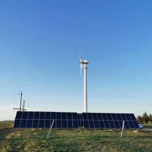 200KW风力发电机设备 风光互补发电设备