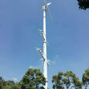 50KW风力发电机设备 风光互补发电