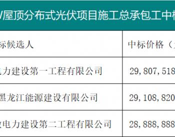 中标 | 最低2.19元/瓦,华能13.2MW屋顶光伏项目施