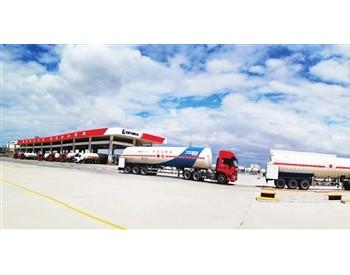 中石化天津LNG接收站槽车外输量突破500万吨