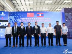 中国老挝应对气候变化南南合作项目新能源车发运仪式在长沙成功举行
