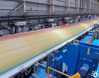 102米!来看看国内首款超百米柔性碳纤维叶片!