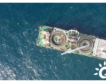 山东省首个海上风电项目首条海缆敷设完成