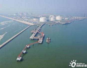 中石化第四建设有限公司推进南港工业区液化天然气工程施工