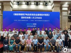 《储能用锂离子电池系统安全通用技术规范》 <em>团体标准</em>第二次工作会议在武汉召开