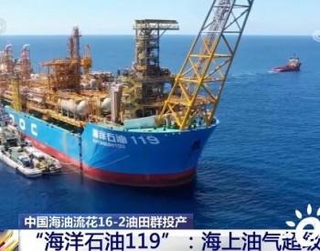 海洋石油119:迄今为止我国作业水深最深、功能最复杂的海上油气超级加工厂