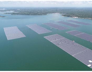 中国能建总承包泰国EGAT诗琳通大坝综合浮体光伏项