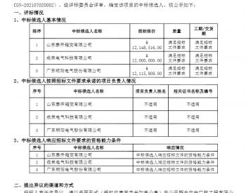 中标丨中广核2021年第二次箱变设备合并采购(第一标段 青海海晏箱变设备采购)中标候选人公示