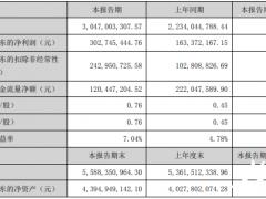 永兴材料中报锂电<em>新能源业务</em>净利1.08亿 碳酸锂销售5448吨