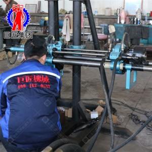 KY-150金属矿山全液压探矿钻机施工范围小坑道钻机