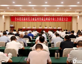 浙江温州:打好碳达峰碳中和开局首战,开创新时代