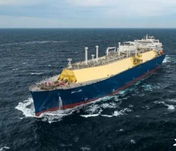 世界顶尖液化天然气船完成气体<em>试航</em>