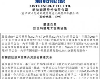 <em>新特能源</em>筹资超20亿投入多晶硅生产,继续加码