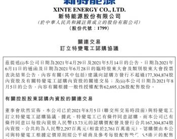 筹资超20亿投入多晶硅生产,<em>新特能源</em>继续加码