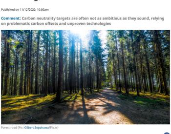 """国外41位学者澄清""""碳中和""""的10个认识误区"""