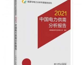 国网能源院发布《中国<em>电力供需</em>分析报告2021》