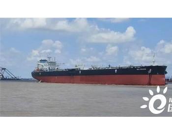 外高桥造船11.4万吨原油轮H1437船<em>试航</em>凯旋