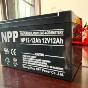 NPP耐普蓄电池NP12-12 12V12AH性能特点