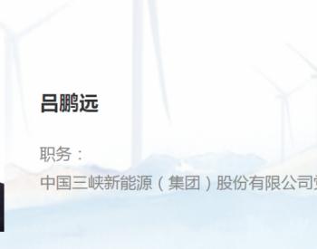 吕鹏远获聘三峡新能源副总经理