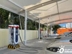 海南三亚已建成5座充换电站 正在推进4座充换电站