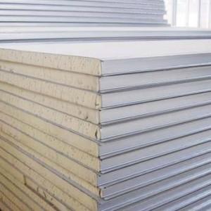 聚氨酯净化彩钢复合板(B级防火板)
