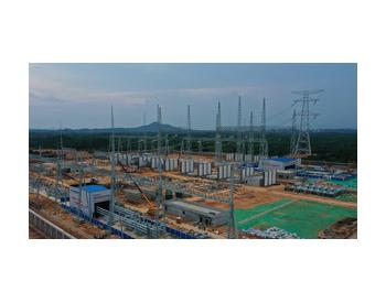 江西:1000KV变电站项目建设正酣