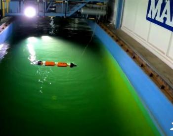 荷兰WP公司<em>波浪能</em>装置完成水槽测试