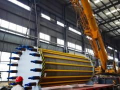 全球首台1200Nm³/h<em>水电解</em>制氢设备出厂