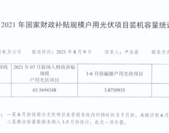 新增655.7MW 山东公布7月户用光伏装机数据