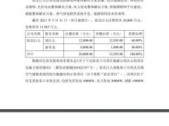 浙能电力拟收购压缩空气综合能源应用示范项目