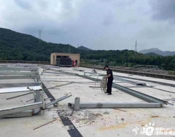 浙江宁波两企业打着安装太阳能的幌子进行违法加建,拆!