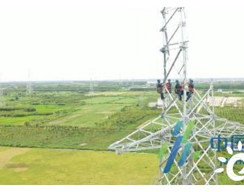 江苏通海输变电工程打通如东海上风电并网通道
