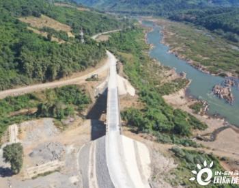 老挝南欧江一级电站库区公路改线工程永久移交
