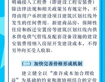 图解:福建省《关于清理规范城镇供水供电供气行业收费促进行业高质量发展实施方案》