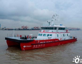 抗风能力达10级!浙江平湖制造的海上风电运维船试航成功