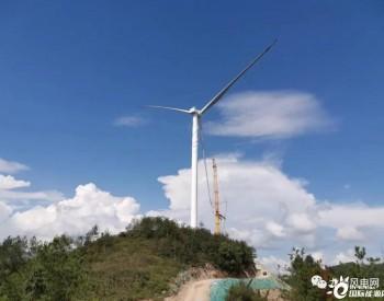江西上唐风电项目9#风机叶轮吊装顺利完成
