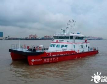 华海造船27米双体风电运维船完成试航